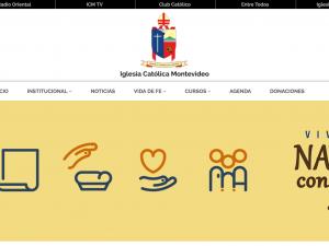 La Iglesia Católica de Montevideo lanzó sus nuevos medios de comunicación.