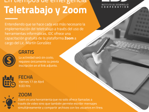 Webinar Teletrabajo y ZOOM