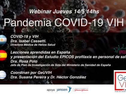 Webinar Pandemia COVID-19 y VIH