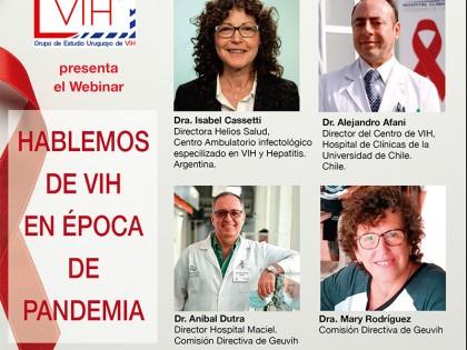 Geuvih realizó un webinar regional sobre VIH y Pandemia