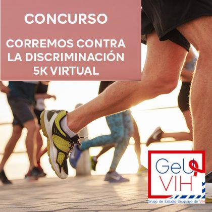 Concurso Corre Contra La Discriminación – 5k Virtual de GEUVIH
